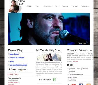 desarrollo web musica