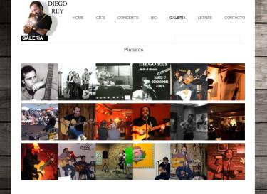 desarrollo web musical