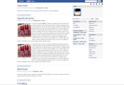Descarga Plantilla WordPress Clon de Facebook