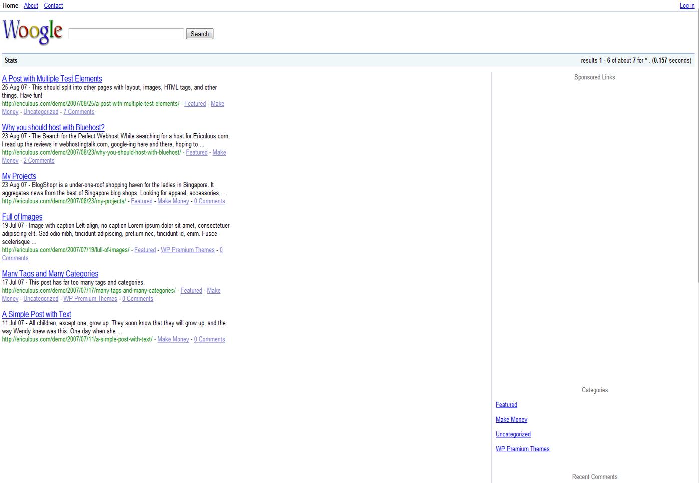 3 Plantillas Web WordPress Clones de Google, Facebook y Pinterest ...