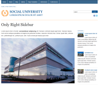 Plantilla Web WordPress Gratis Academica