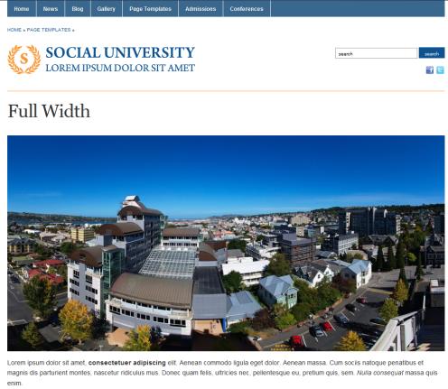 Plantilla WordPress Gratis Academica