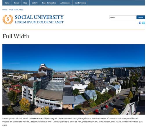 Academica, Plantilla Web Gratis para Universidades y Escuelas ...