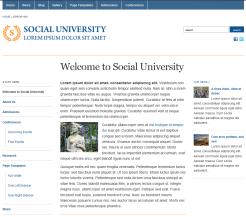 Tema WordPress Gratis Academica