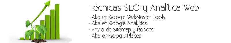 Tecnicas SEO y Analitica Web