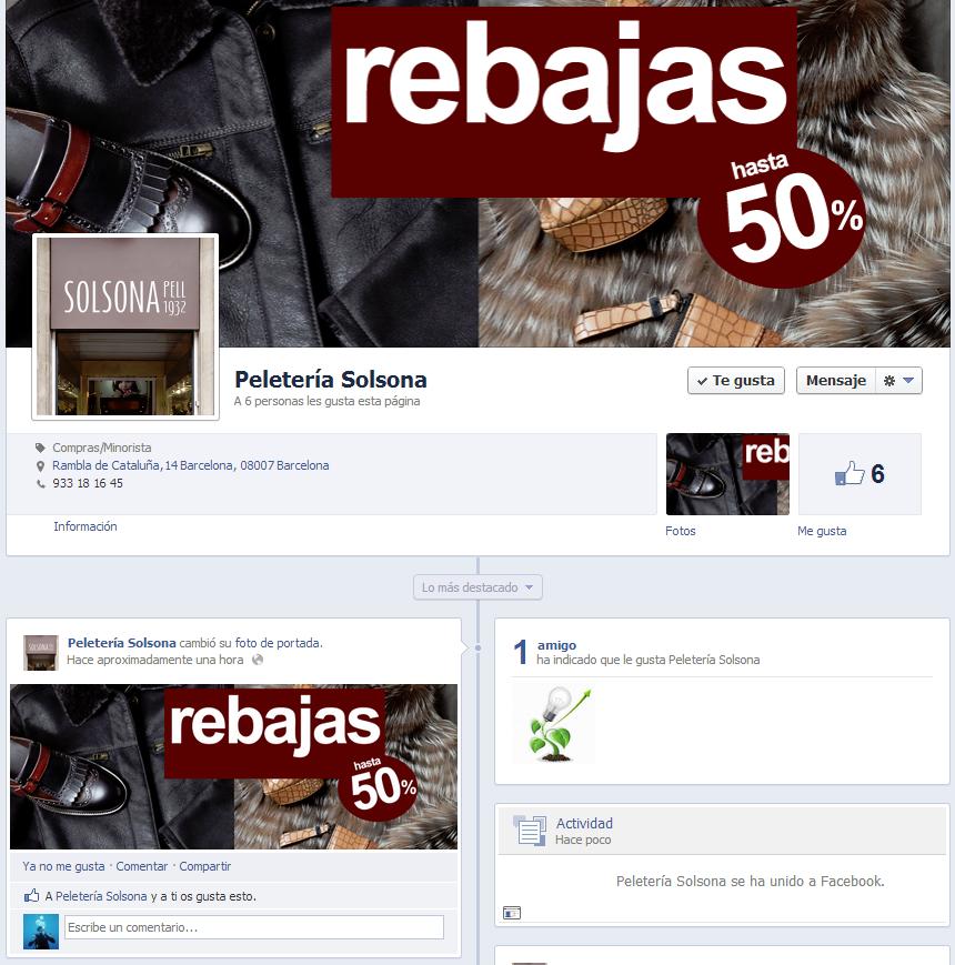 Diseno Pagina Facebook Peleteria