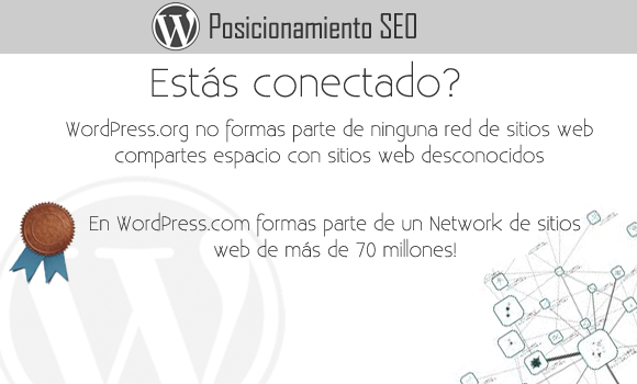 WordPress com versus WordPress org Posicionamiento SEO