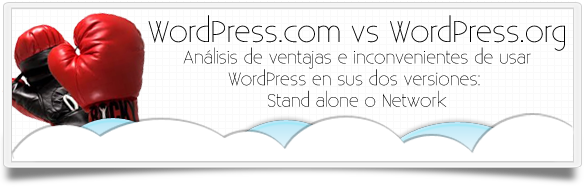 WordPress com versus WordPress org