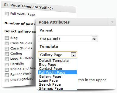 Elige la Arquitectura de las Paginas