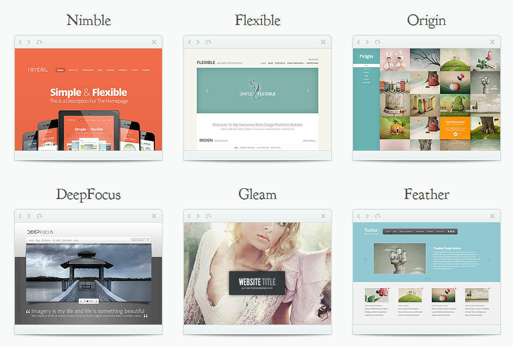 80 Elegantes Plantillas WordPress Premium al precio de una ...