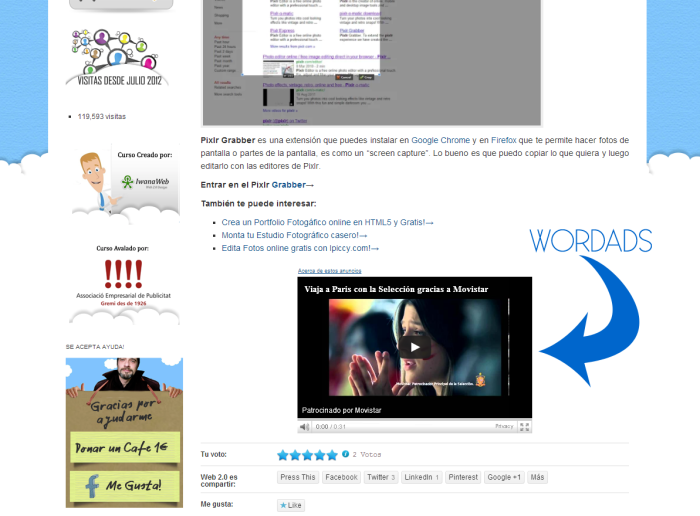Wordads de WordPress