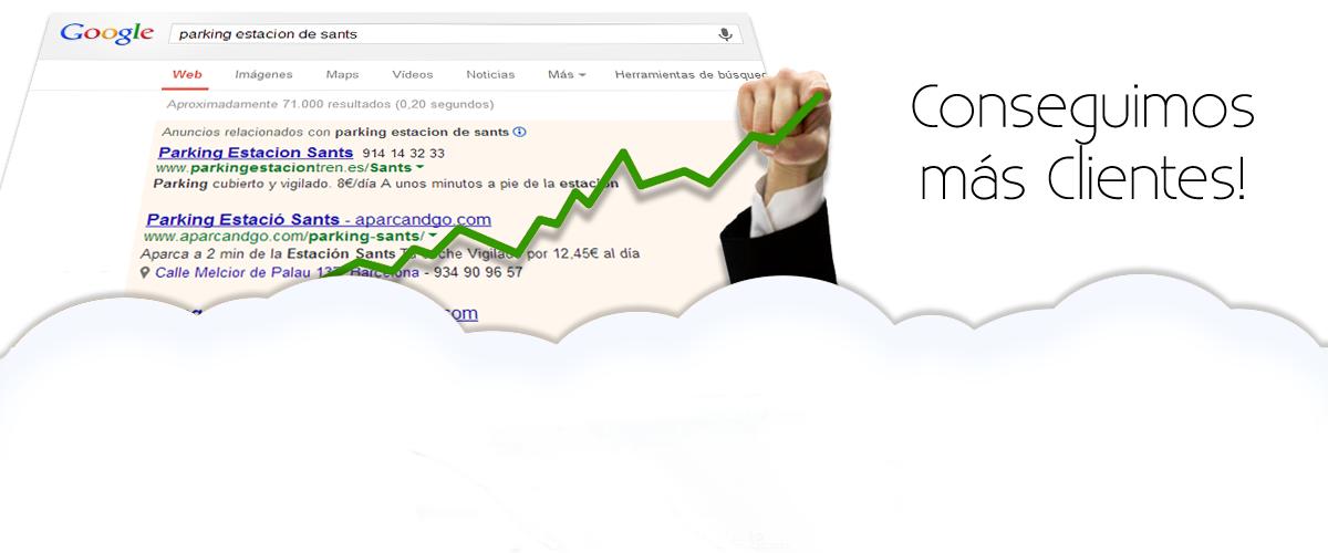 Gestion de Publicidad en Buscadores Google Adwords