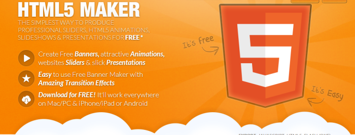 Html5 Maker Crea Banners Slideshows y Presentaciones