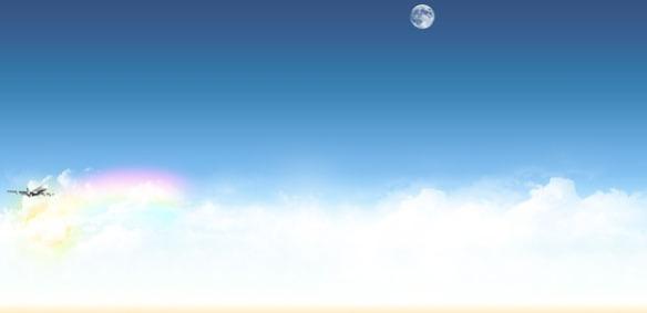 Fondo Twitter Gratis Azul Cielo Nubes