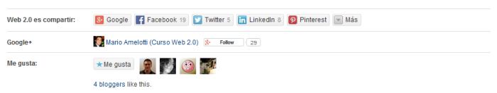 Cuenta Google Plus en tus Posts de WordPress.com