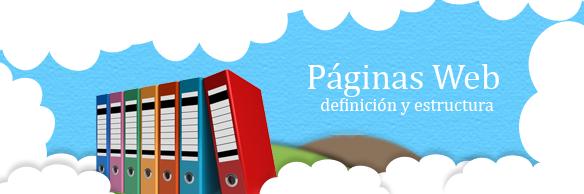 pagina web definicion y estructura