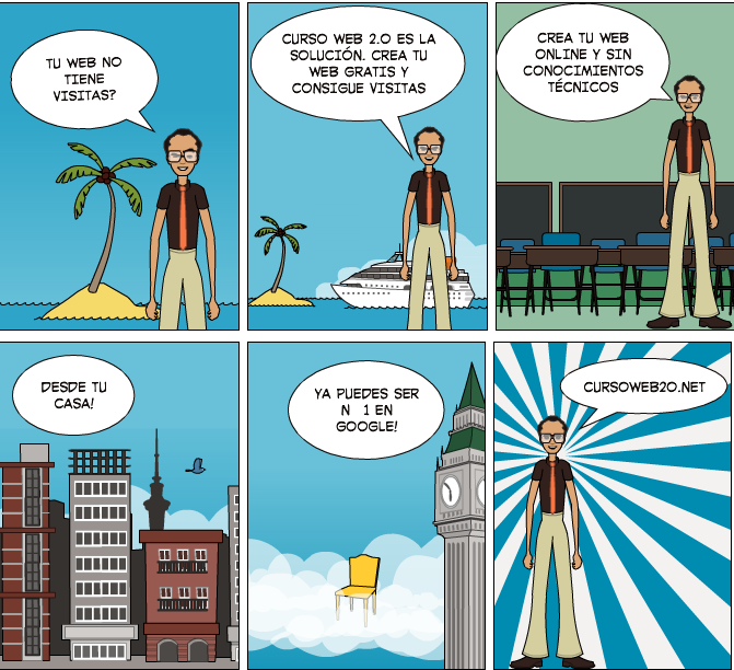 Comic Curso Web