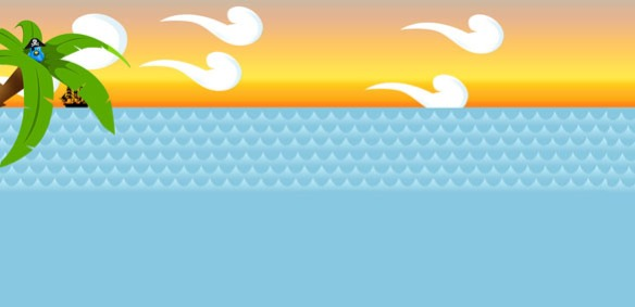 Fondo Twitter Gratis Mar Caribe