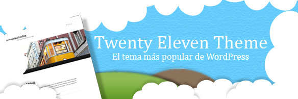 Twenty Eleven el tema mas popular de wordpress