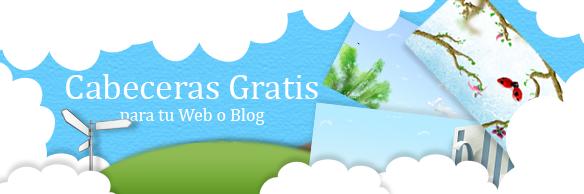 cabeceras gratis blog web