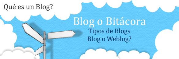 que es un blog o bitacora