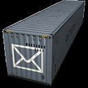 descargar icono gratis correo container