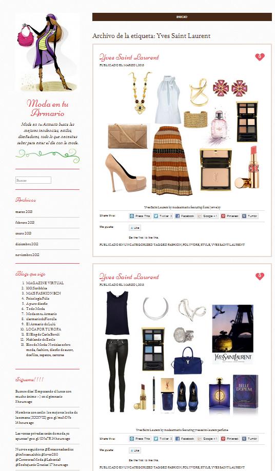 Plantilla Web Gratis de Moda y Fashion