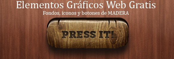 Fondos iconos botones Web Madera Rustico gratis