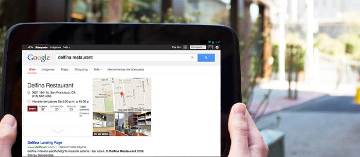 Google Places para Negocios Locales