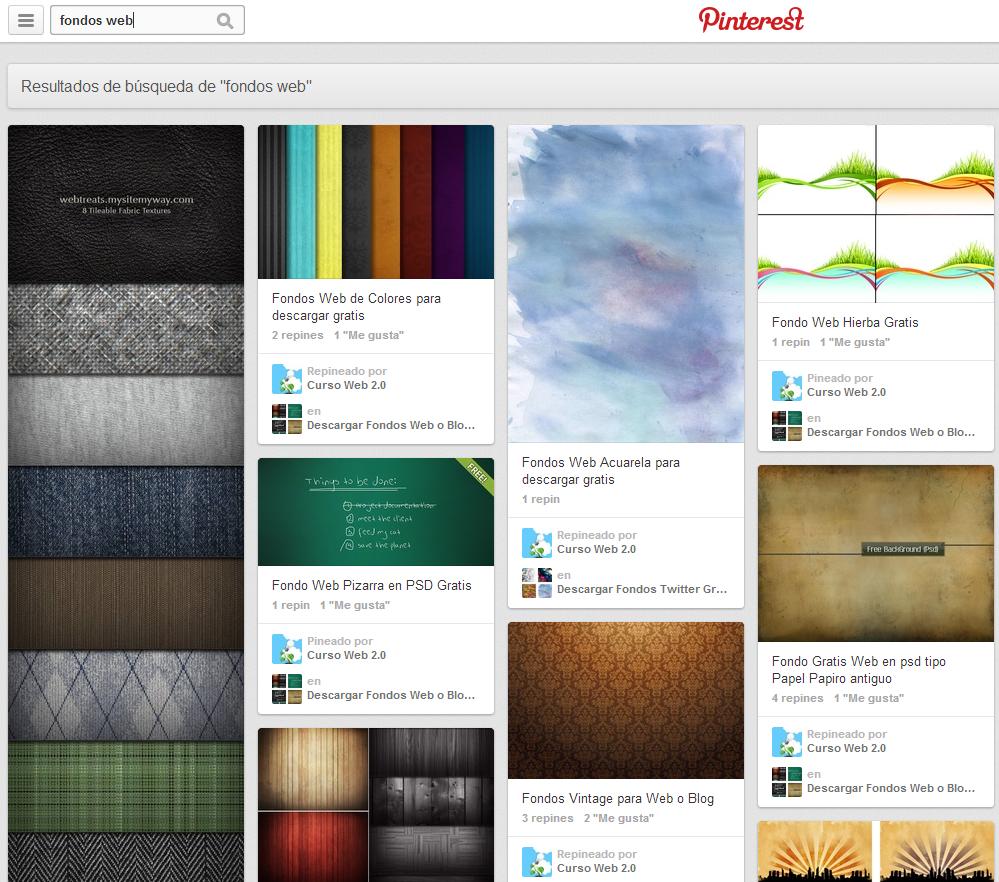 Posicionar Tablon de Pinterest en buscadores