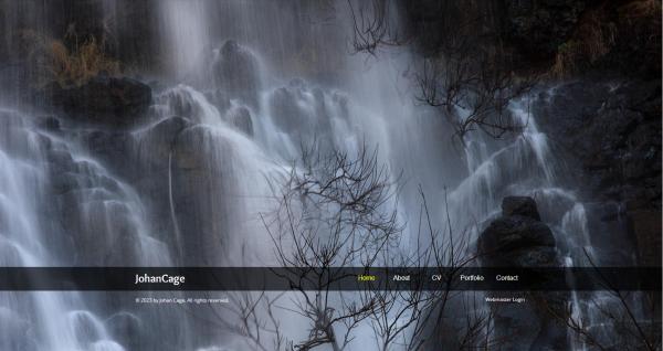 Portfolio fotografico online gratis en HTML5