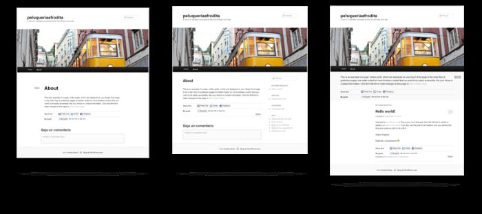 Estructuras Paginas Web